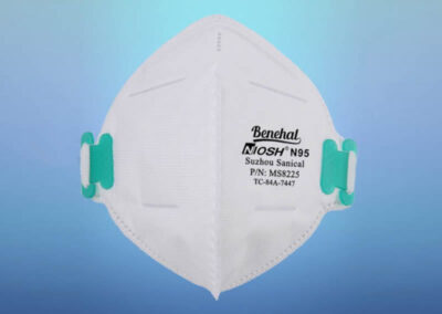 Benehal MS8225 Foldable Air Pollution Disposable N95 Particulate Respirator